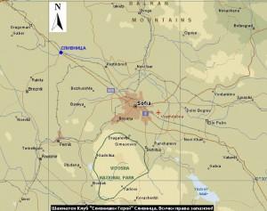 Карта - Къде се намира град Сливница